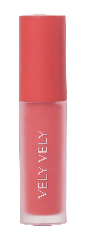 VELY VELY Mousse Tint - Vivid Bright Color Moisturizing Lightweight Velvet Lip Stain (4.8 g/0.16 fl oz) #London Mood