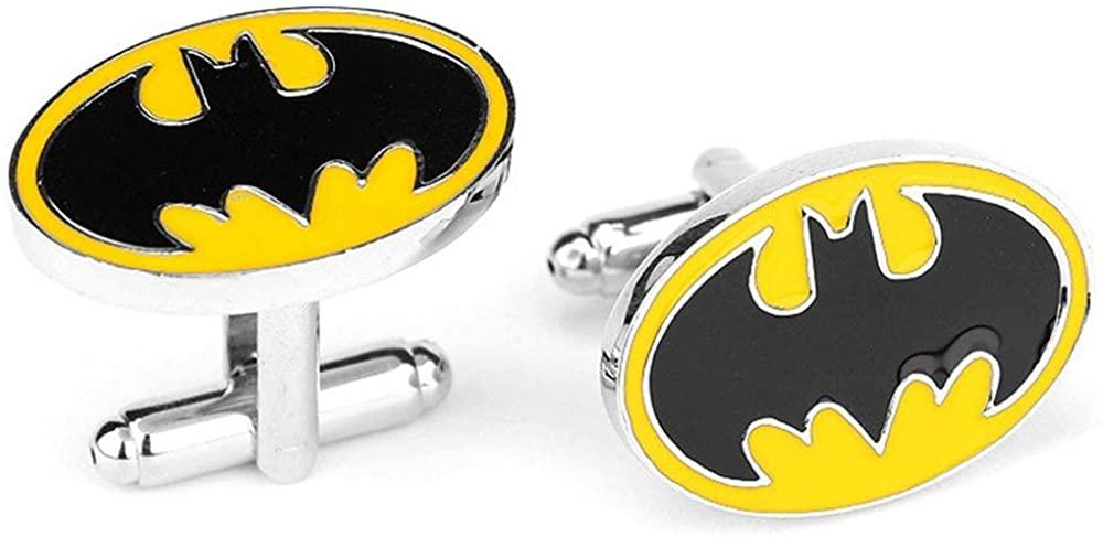 Geek & Glitter Marvel & DC Cufflink Set with Gift Box | 30 Styles to Choose from - Comics Merchandise Collectibles, Superhero Cuff Links Cuffs Links Mens Cufflinks for Men