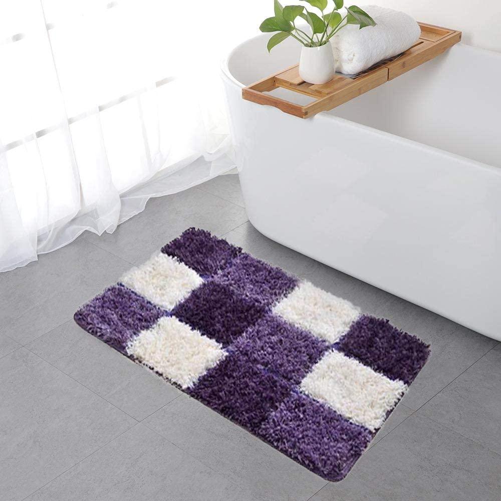 ZaH Mosaic Doormat Front Door Mat Indoor Outdoor Carpet Non-Slip Bathroom Rug Home Decoration 18