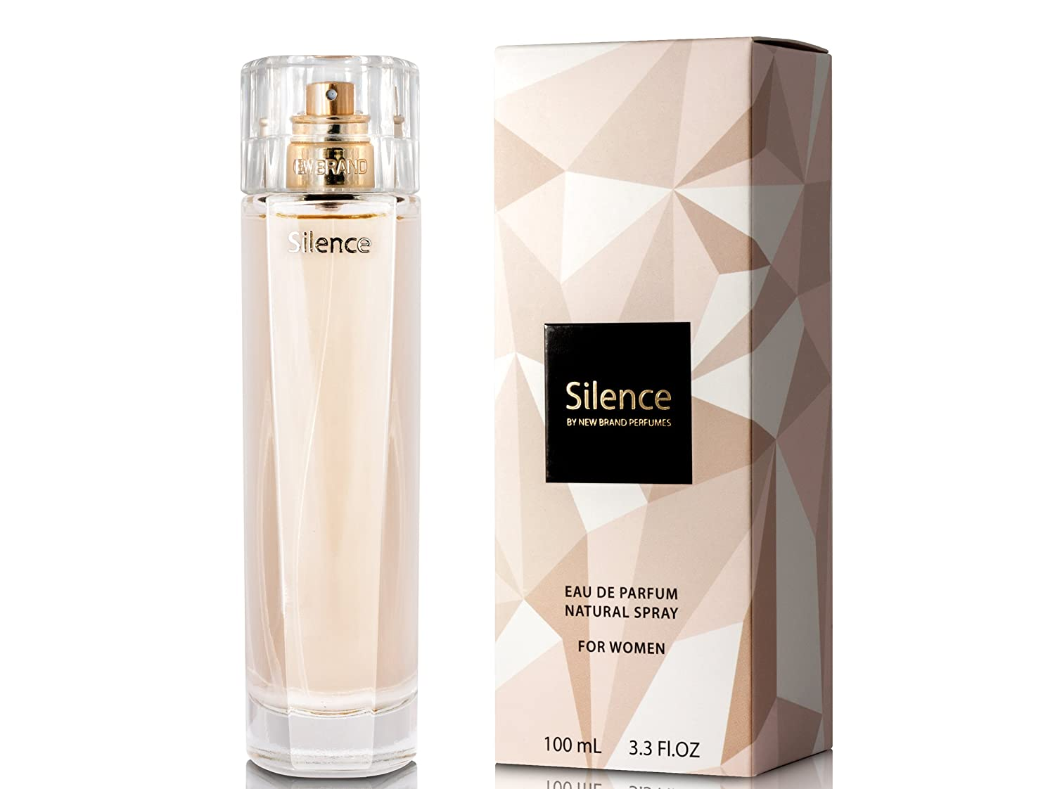 NEW BRAND PERFUMES Edp silence (l) 100 ml spr, 3.30 Fl Oz