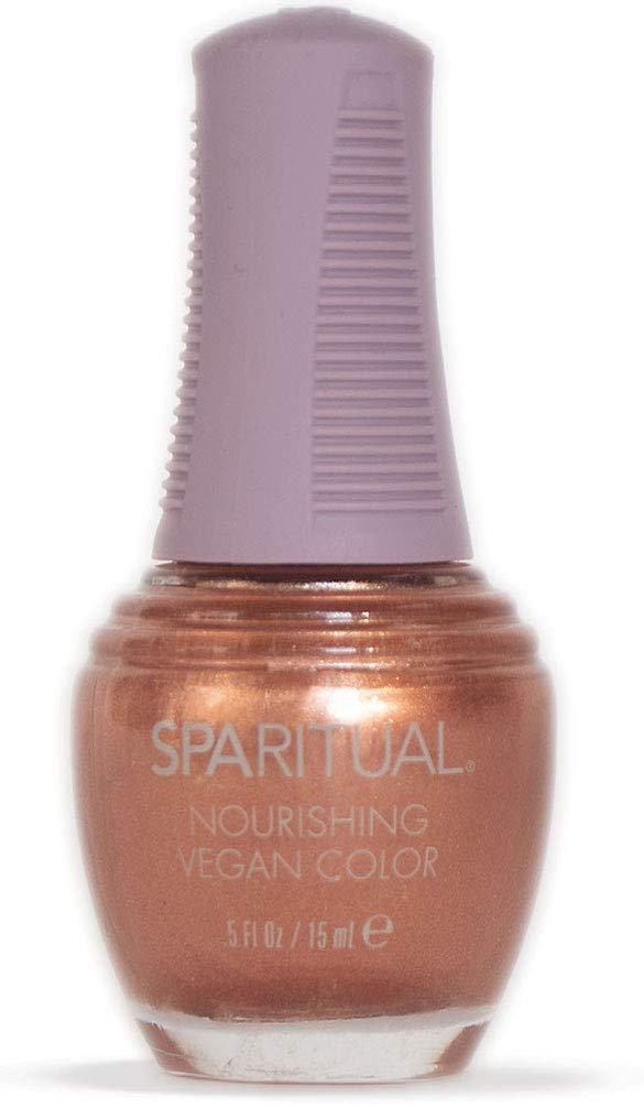 SPARITUAL Nourishing Vegan Nail Color | Red/Orange/Purple