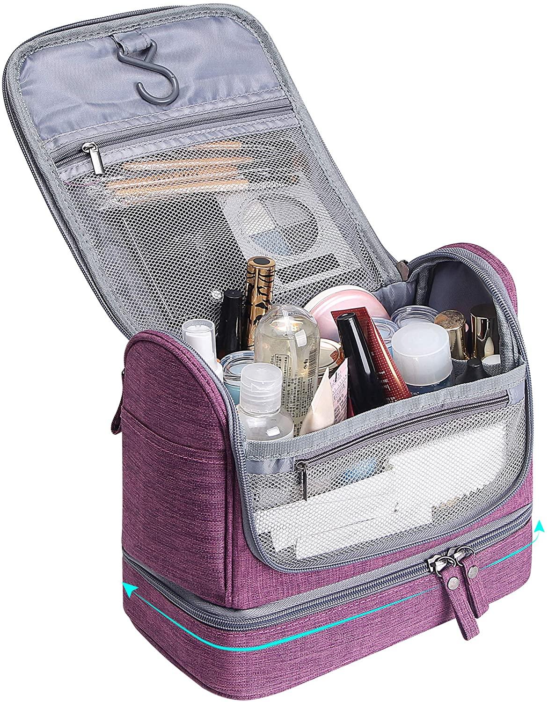Hanging Travel Toiletry Bag Makeup Organizers Waterproof Cosmetic Bag Bathroom Shower Hygiene Bag Kit for Men Women
