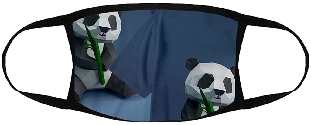 1PCS Halloween Bandanas Adults Couple Reusable Breathable Fashion Washable Adjustable Funny Printed Cloth Face_Mask