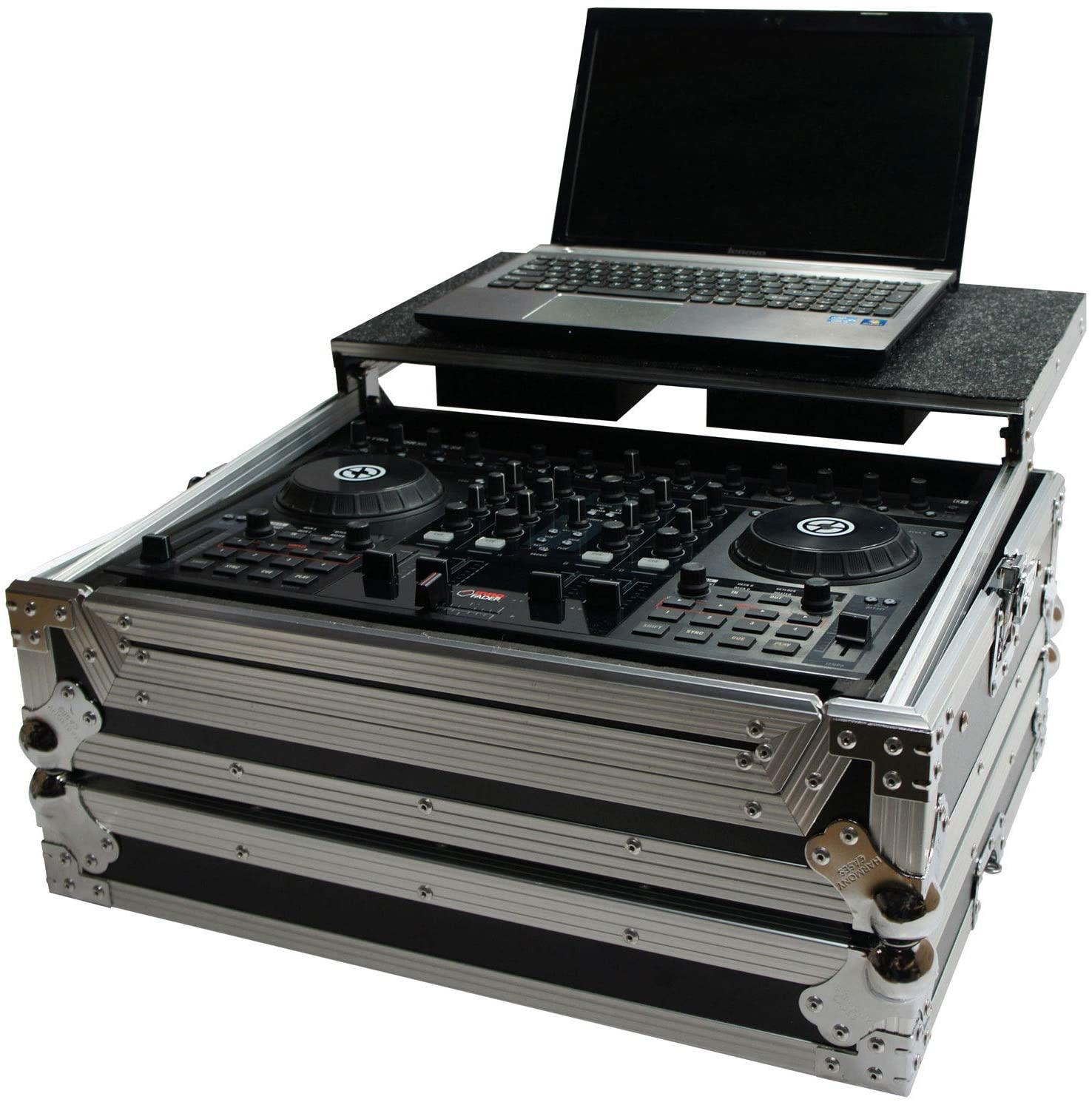 Harmony HCTKS4LT Flight Laptop Stand DJ Case Compatible with Native Instruments Kontrol S5