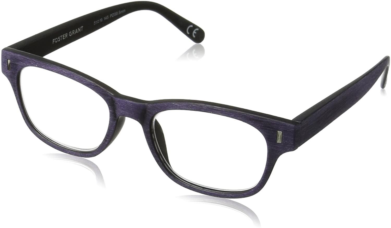 Foster Grant Women's Adeline Rectangular Reading Glasses
