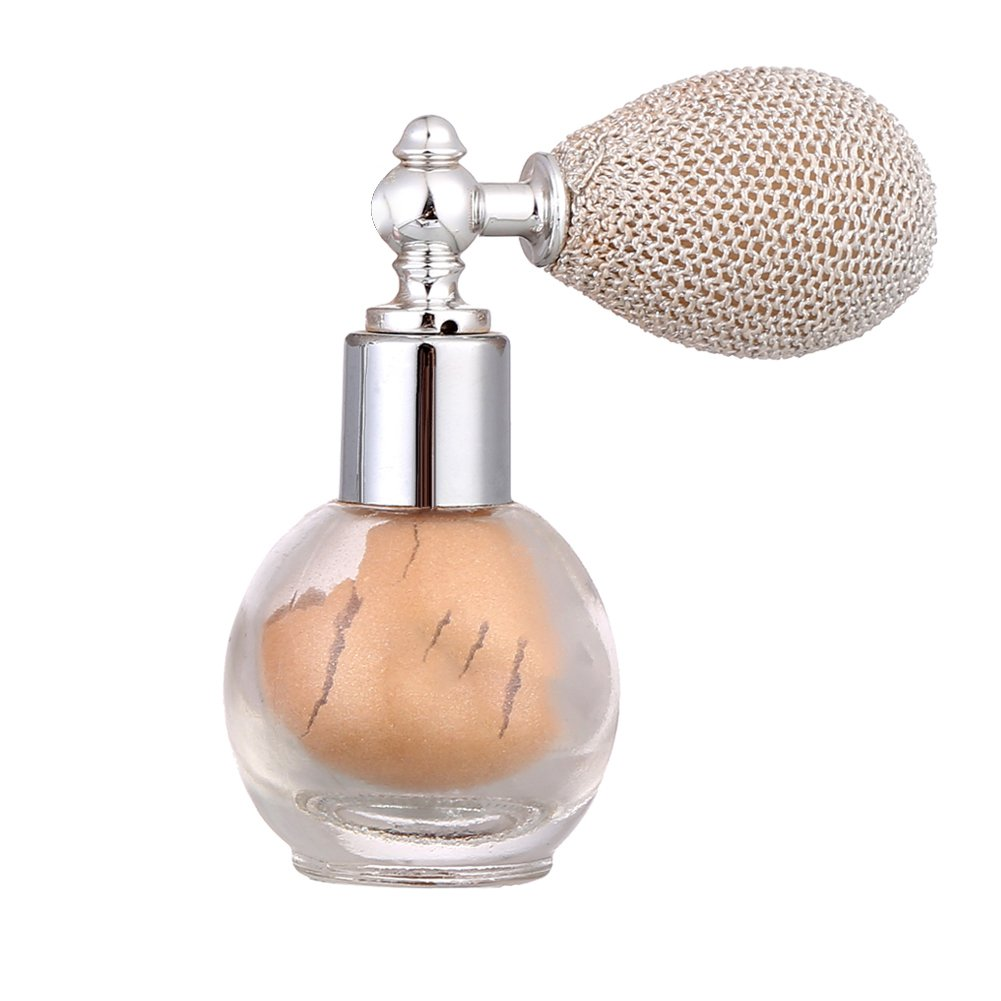 Pressed Powder Loose Powder Spray Moisturizing Brightening Aroma Shimmering Spray Powder Glitter Powder Spray