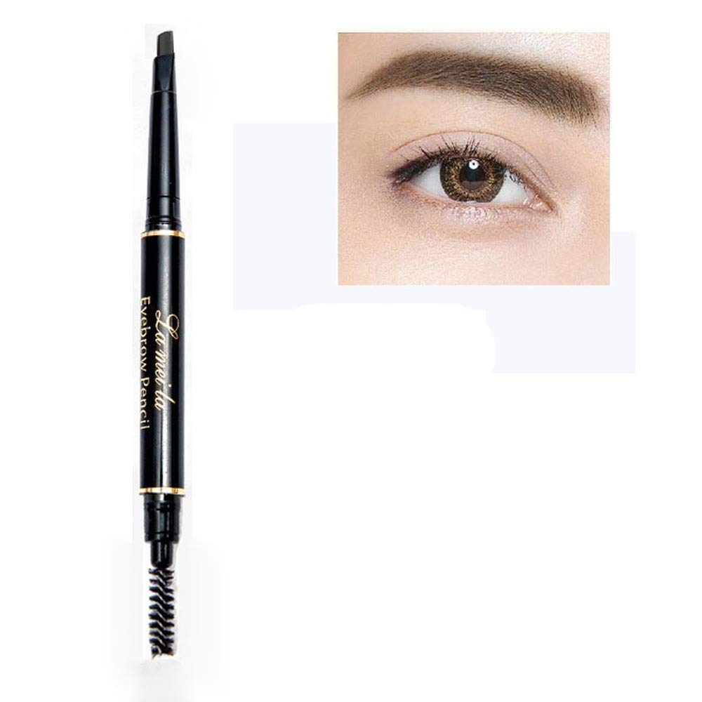 Eye Brow Tint Cosmetics Natural Long Lasting Paint Tattoo Eyebrow Waterproof Black Brown Eyebrow Pencil Makeup Set (2)