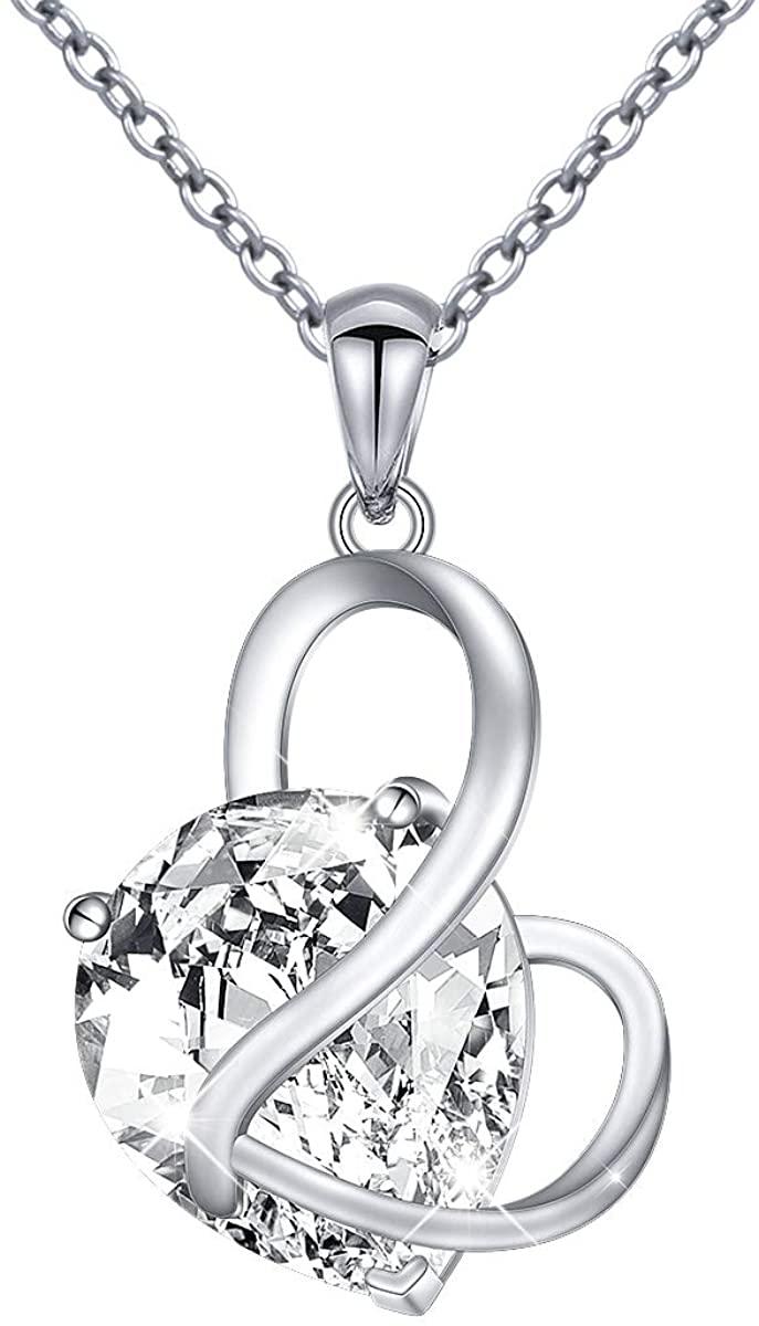 YinShan Austria Blue Zircon Jewelry 925 Sterling Silver CZ Butterfly Wing Simple Teardrop Dangle Earrings and Necklace
