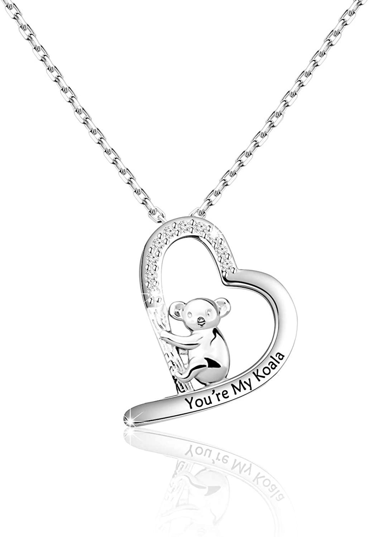 FOTAP Koala Jewelry You're My Koala Necklace Koala Fans Gift Koala Bear Necklace Girlfriend Gift Lover Gift