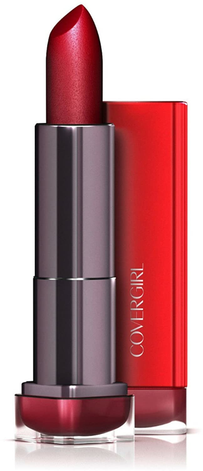 CoverGirl Colorlicious Lipstick, Seduce Scarlet [310] 0.12 oz (Pack of 2)
