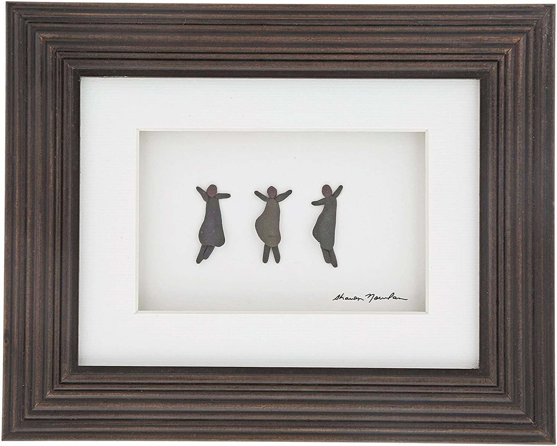 DEMDACO Sharon Nowlan Celebrate Life Espresso Finish 10 x 8 Dimensional Framed Wall Art Plaque