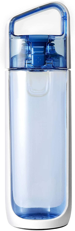 KOR 25.4 oz Delta Water Bottle Clear Water