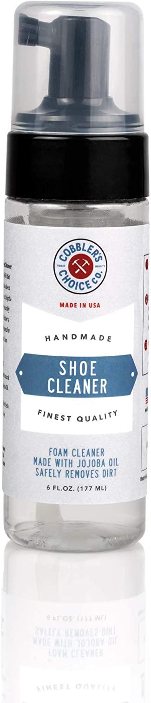Cobbler's Choice Shoe Cleaner - Sneaker Cleaner - Leather Cleaner - Suede Cleaner - Shoe Cleaner - All Purpose Foam Cleaner