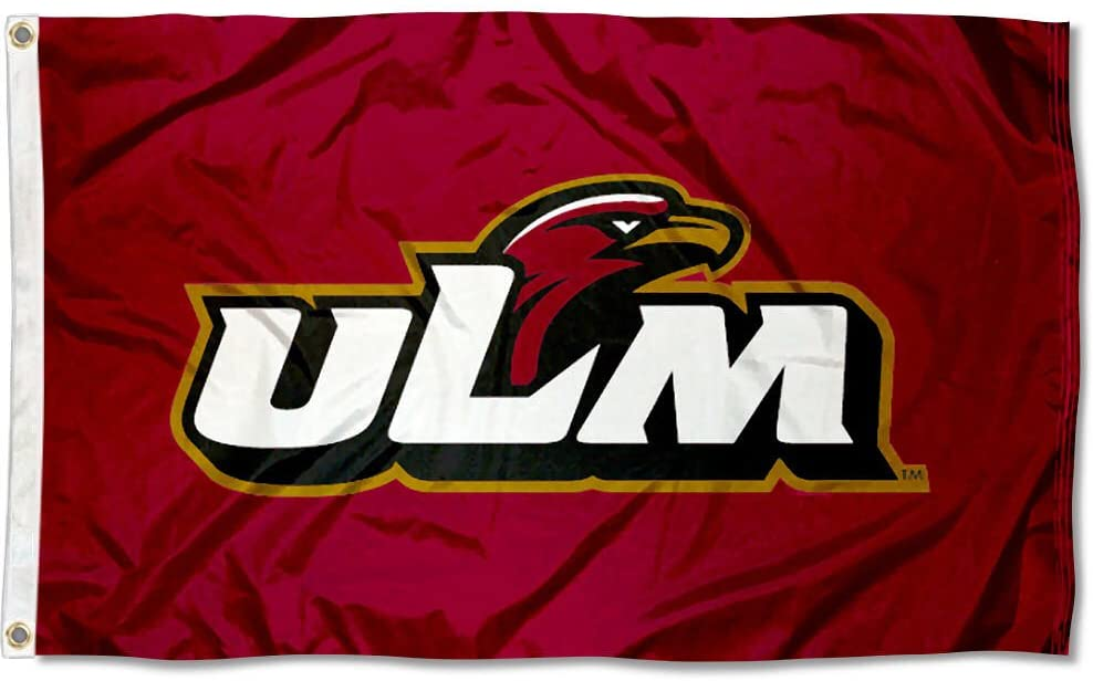 Louisiana Monroe Indians ULM University Large College Flag