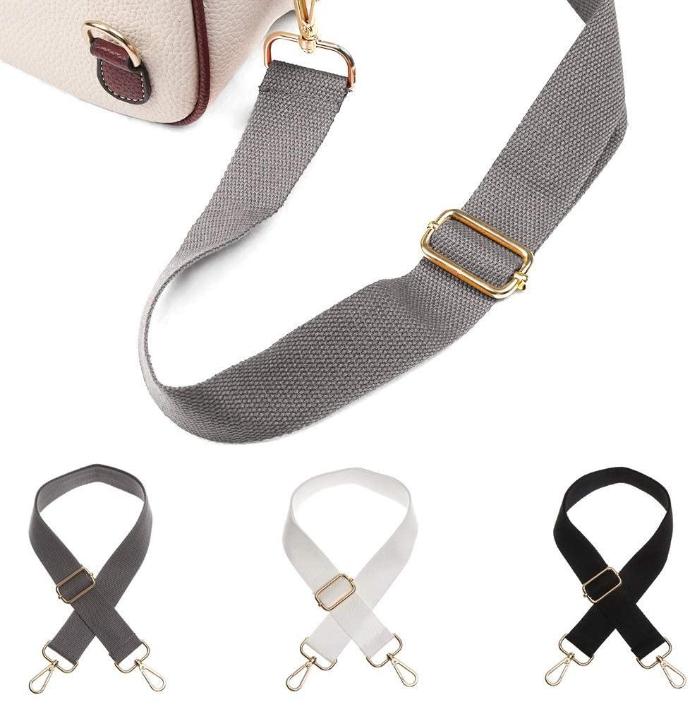 Okdeals Replacement Bag Strap Adjustable Handbag Straps for Purse Guitar Laptop Crossbody Bag (3 Colors-b)