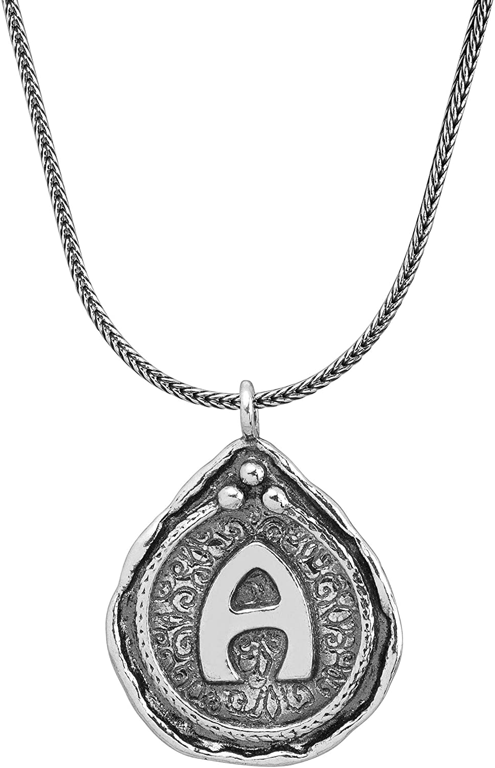 Silpada Namesake Collection 'a' Initial Pendant Necklace in Sterling Silver