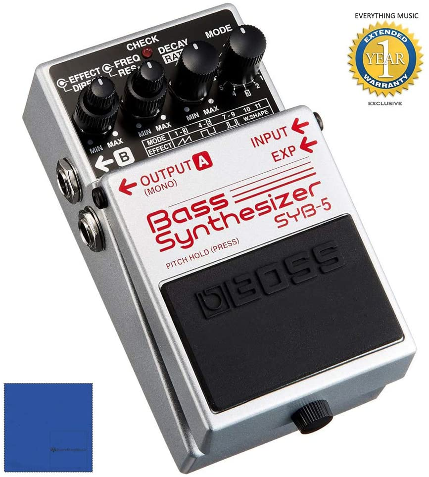 Boss SYB-5 Bass Synthesizer Pedal with 1 Year Free Extended Warranty