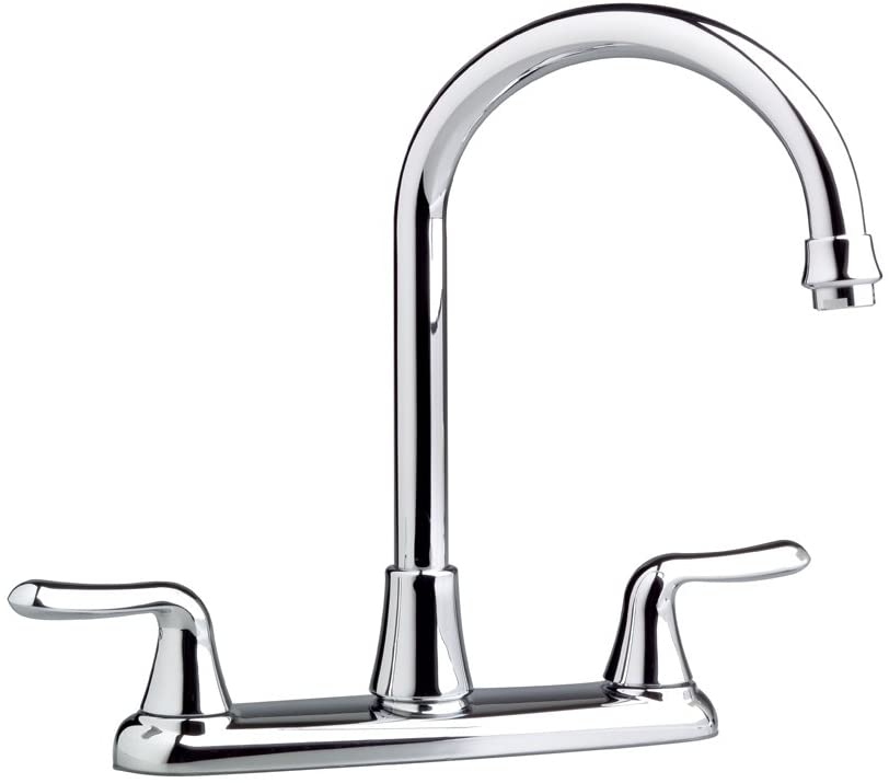 American Standard 4275550F15.002 Colony Soft 2-Handle High-Arc Kitchen Faucet with 1.5 gpm Aerator, Polished Chrome