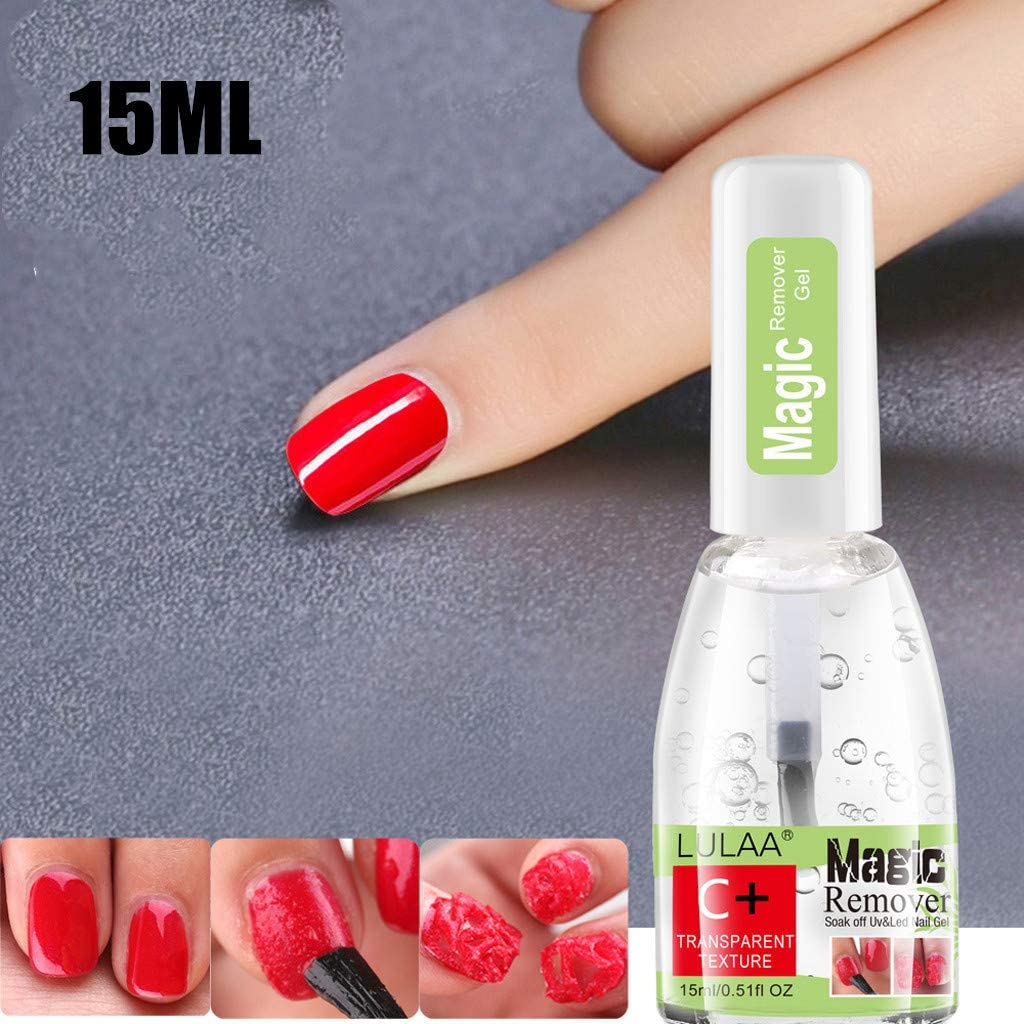 Fineday Gel Burst Magic Soak Off Remover Nail Cleaner Gel Nail Manicure 30ML, Nail Art, Health and Beauty (A)