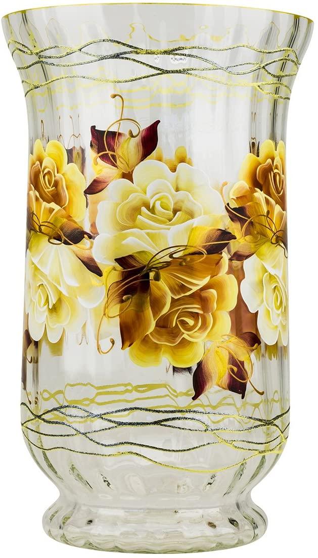 Victoria Bella Rose & Wire-400 Vase by Jozefina Atelier