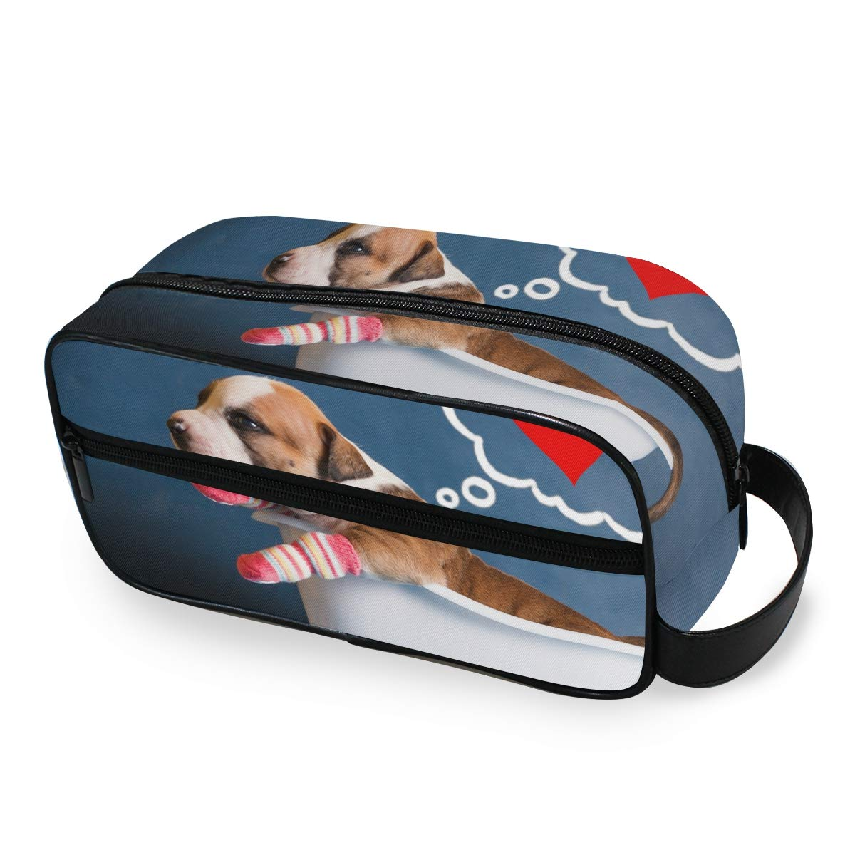 Cosmetic Bag Makeup Case Bath Crock Dog Portable Toiletry Bag Organizer Accessories Case Tools Case for Trave