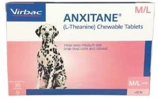 Anxitane M & L (L-Theanine) Chewable Tablets, 30 Count