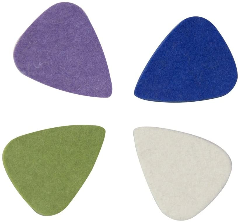 CYC Music Felt Picks Ukulele plectrum - 4 color in 1