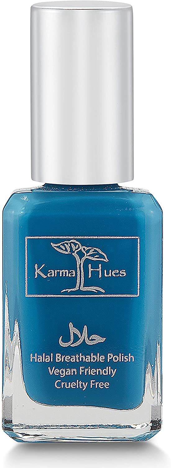 Karma Halal Certified Nail Polish- Truly Breathable Cruelty Free and Vegan - Oxygen Permeable Wudu Friendly Nail Enamel (DARIYA)