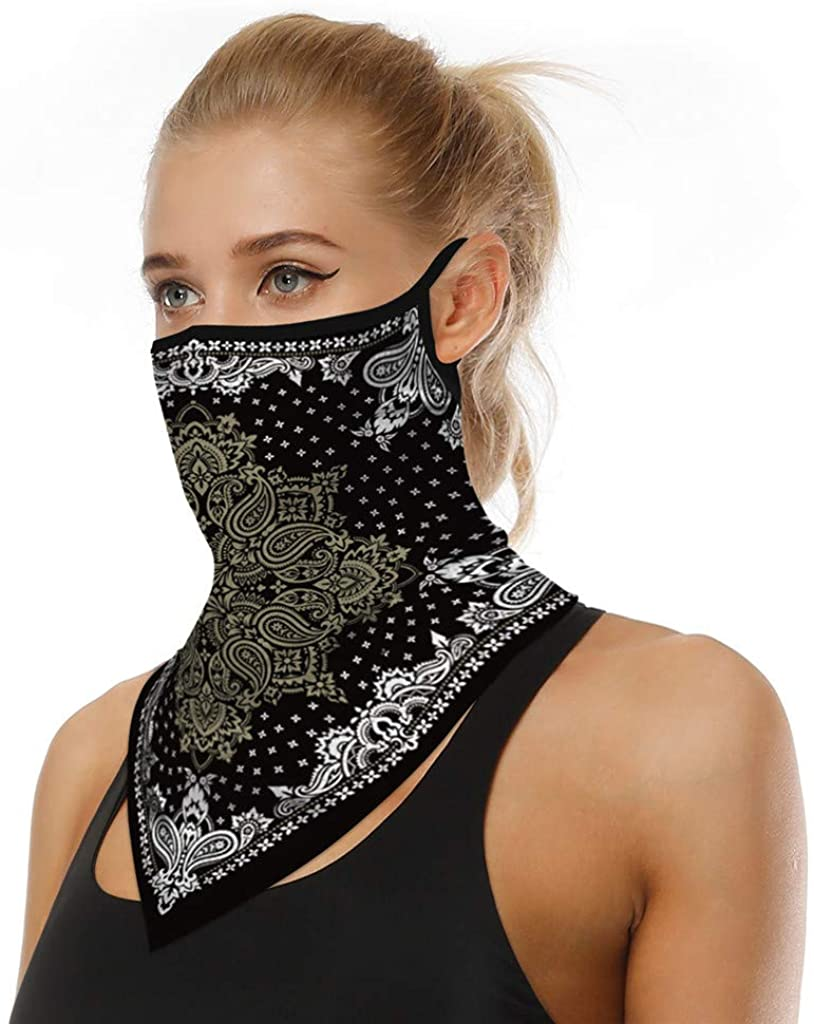 1PC Sports Funny Cycling Scarf Neck Reusable Breathable Motorcycle Fashion Sports Washable Cloth Face_Mask Bandanas