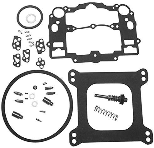 Carbman Carburetor Rebuild Kit for EDELBROCK 1477 1400 1404 1405 1406 1407 1409 1411 Fits All Automotive 500 600 650 700 750 800 CFM Weber Marine Carburetor Mercruiser kit 809064 Carter 9000 Series