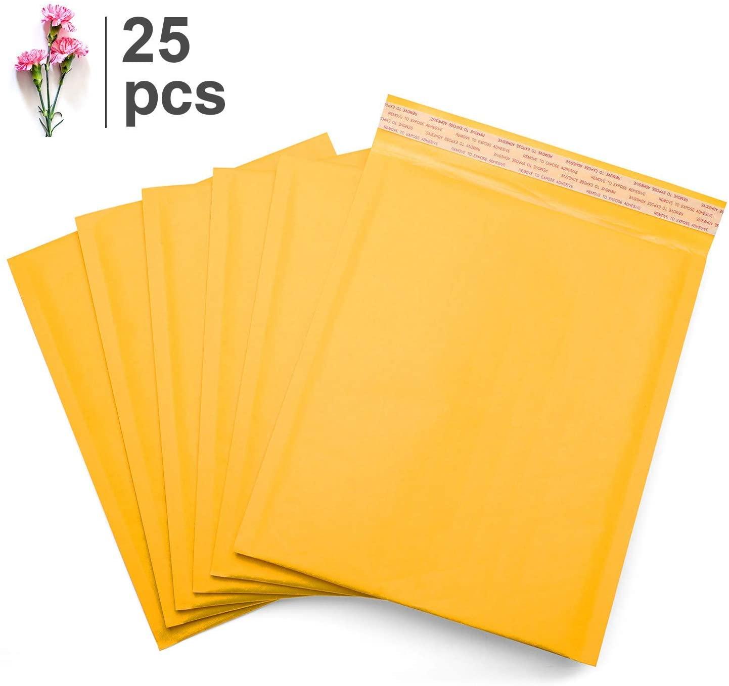 Kraft Bubble Mailers #7 Padded Envelopes Shipping Bags Self Sealing 14.5