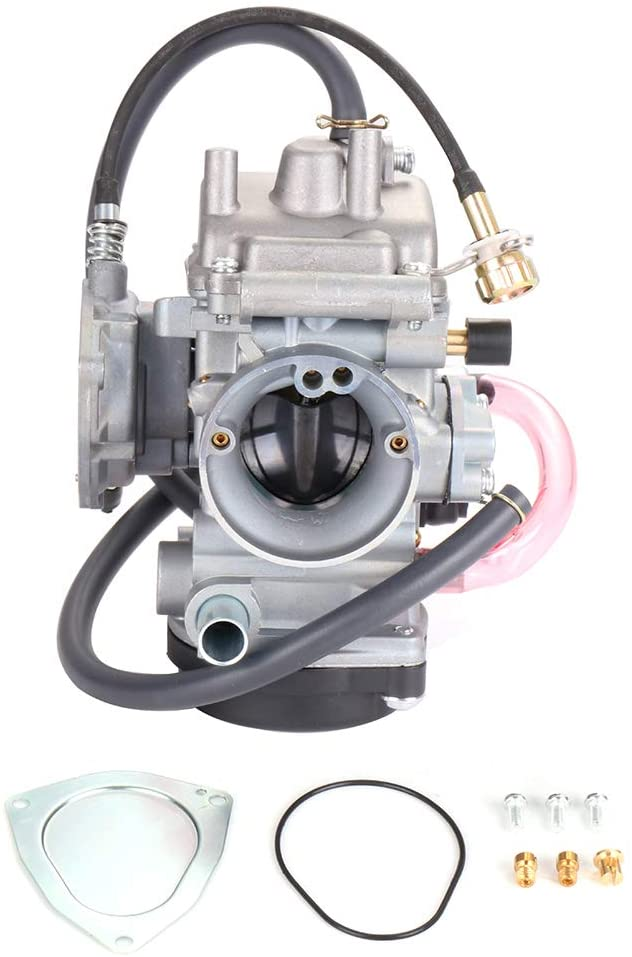 ECCPP New Replacement Carburetor Fit for 2000-2006 Yamaha Big Bear 400/2004-2006 Yamaha Bruin 350/2007-2011 Yamaha Grizzly 350/2007-2012 Yamaha Grizzly 450/2006-2009 Yamaha Wolverine 350