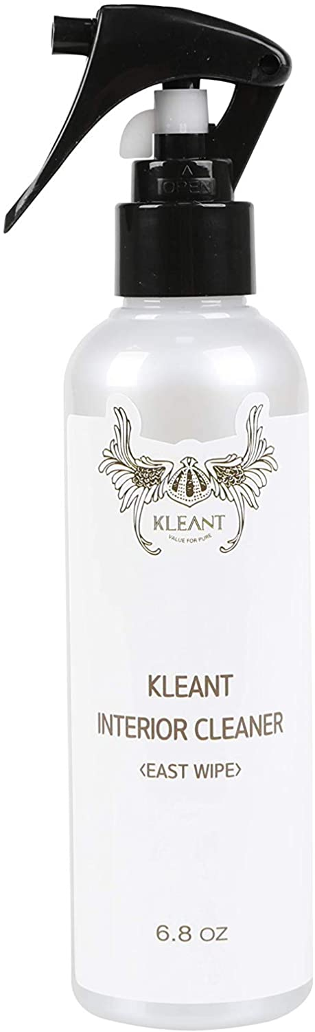 KLEANT Interior Leather Cleaner for Car, Furniture's Leather Condition, Colorless and Odorless Easy Wipe (6.8 oz)