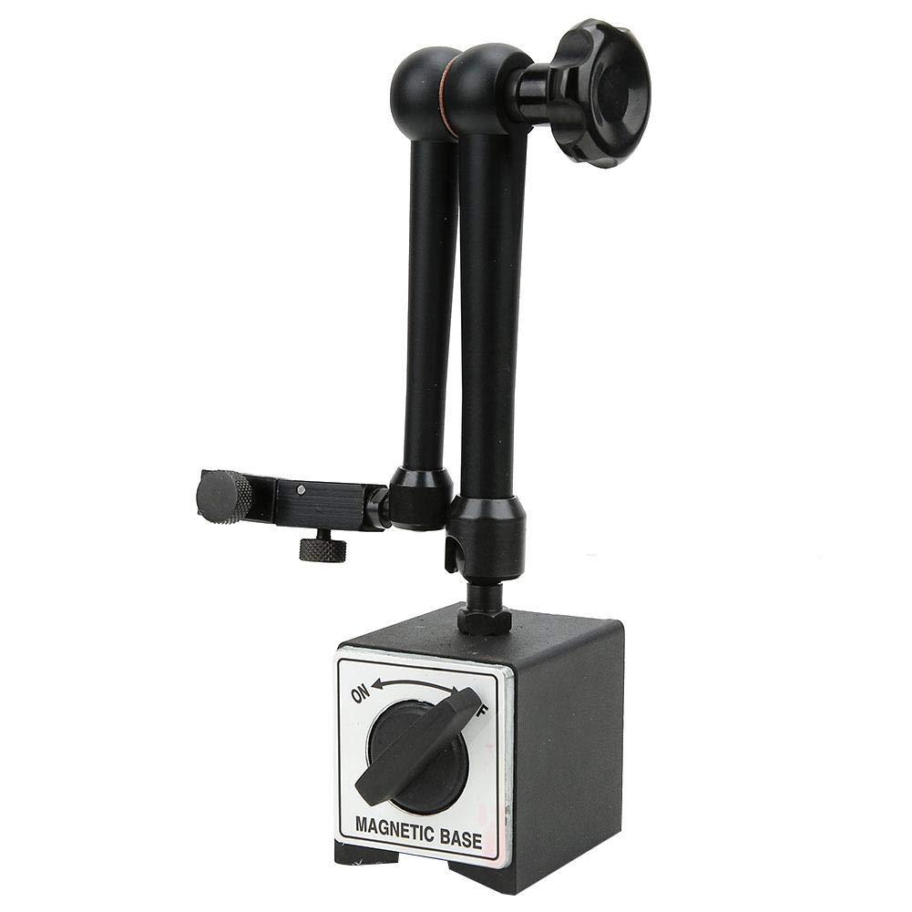 Universal Magnetic Base Holder,Digital Dial Indicator Gauge Holder,Heavy Duty Adjustable Metal Test Indicator Magnetic Base Stand,for Dial Indicator Measuring Tool(Large)