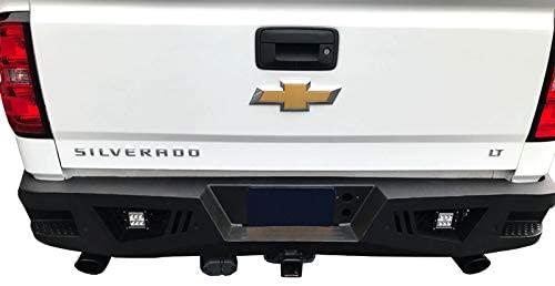 Black Horse ARB-SI16-KIT Armour Front Bumper With LED Light Bar Included
