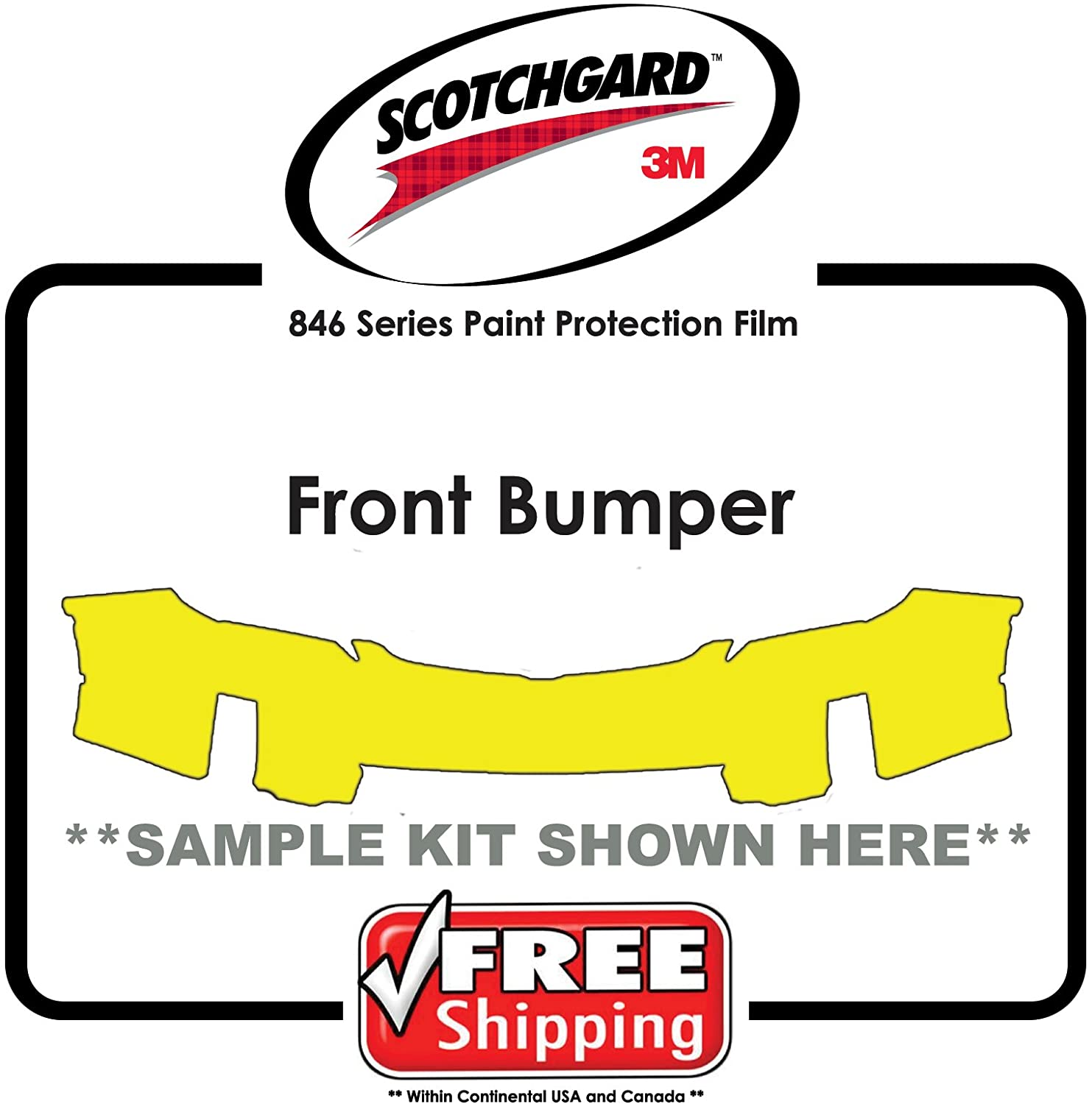 Kits for Scion - 3M 846 Scotchgard Paint Protection Film - Front Bumper Only