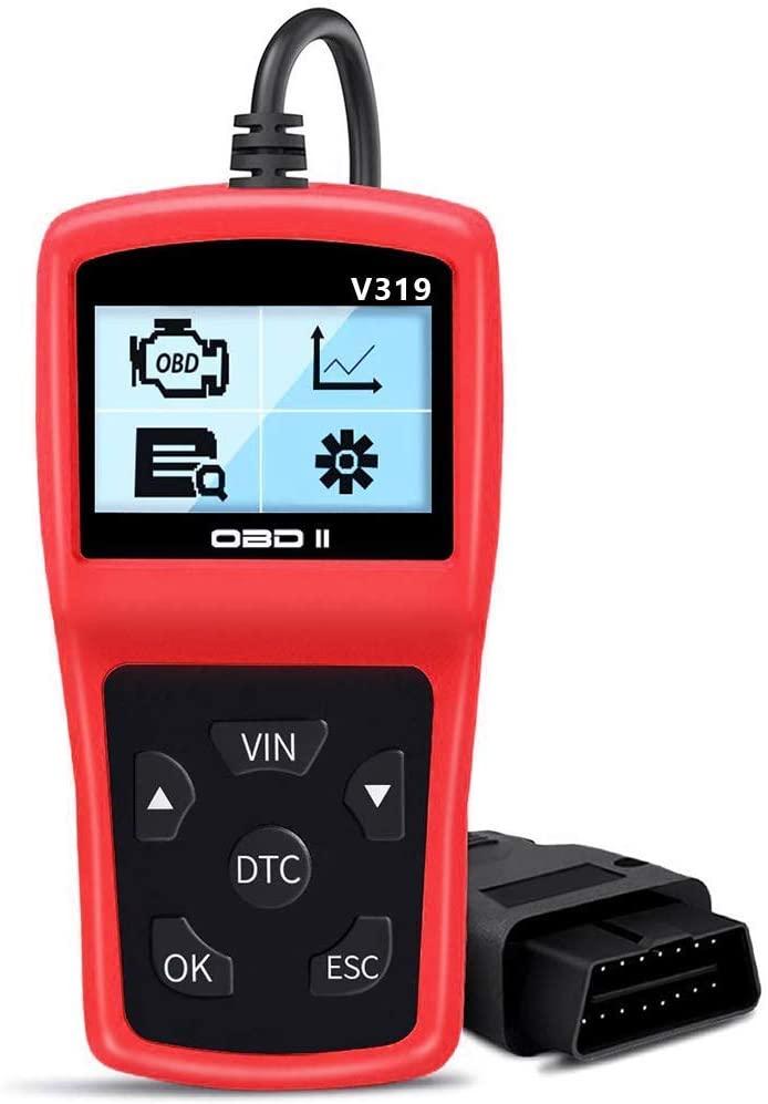 LINGSFIRE OBD2 Scanner V319 Vehicle Diagnostic Code Reader Universal Automotive Engine Fault Code Car Diagnostic Tool for All OBD II Car After 1996(New Version)
