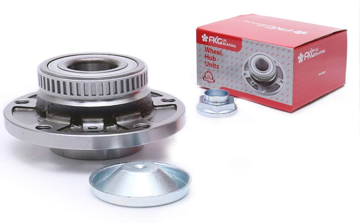 FKG 513125 Front Wheel Bearing Hub Assembly For BMW Z3 Z4 M3 318i 318is 318Ci 325i 325Ci 325is 328i 328is 330i 330Ci 540i 740i 850i