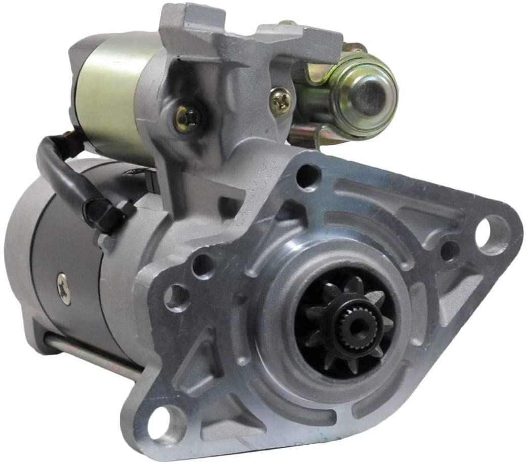 Rareelectrical NEW 12V 9T CW PLGR STARTER MOTOR COMPATIBLE WITH MITSUBISHI FUSO M008T55073 M8T55073 ME215097