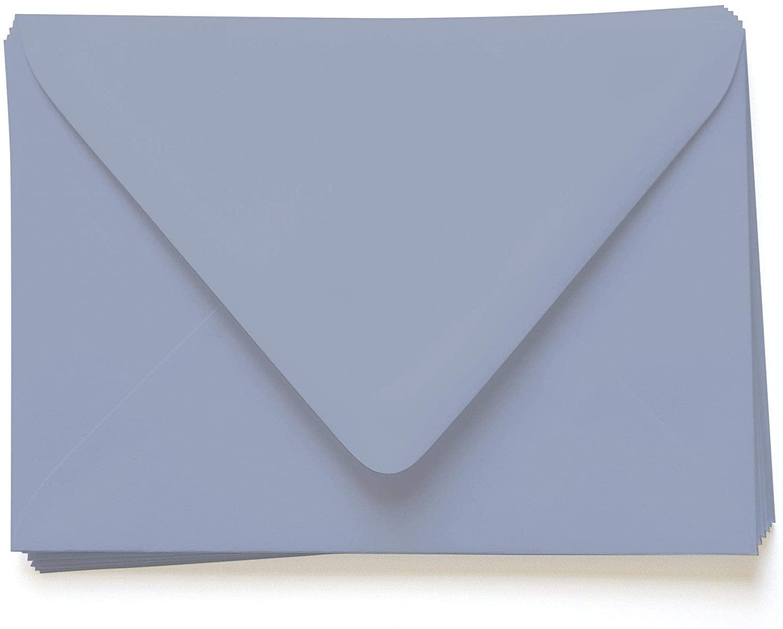 A6 Gmund Colors Matt Storm Cloud Envelopes - Euro Flap, 68T, 25 Pack