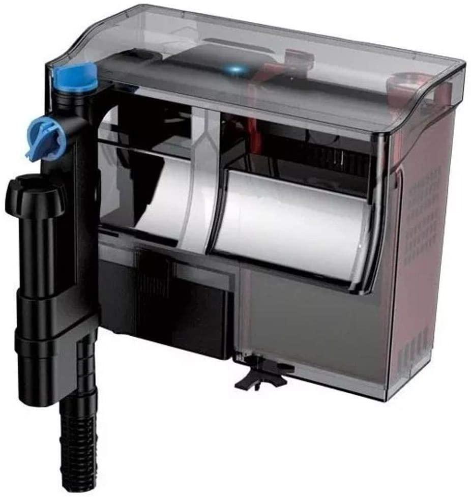 GRECH CBG-800 5W UV Sterilizer Hang-On Back Filter, 20-50 gallon/211 GPH