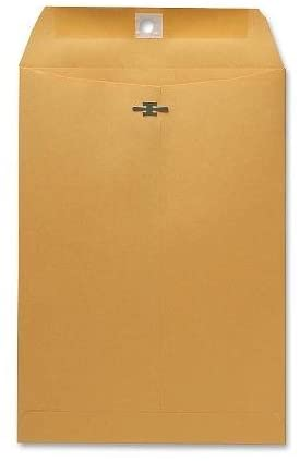 Sparco Clasp Envelope, 28 lbs, 7-1/2 x 10-1/2 Inches, 100 per Box, Kraft (SPR08875)