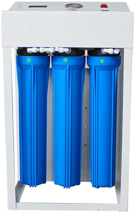 CGOLDENWALL Commercial Reverse Osmosis Drinking Water Filter System Water Purifier for Drinking Water Purification (600 Gallon)