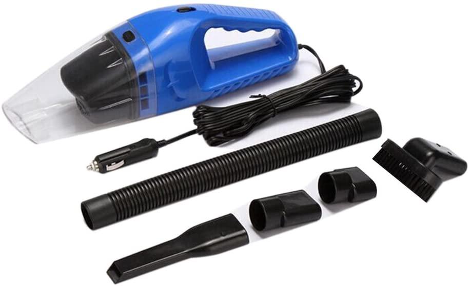 WINOMO Portable Super 12V 120W Car Vacuum Cleaner Dust Collector (Blue)