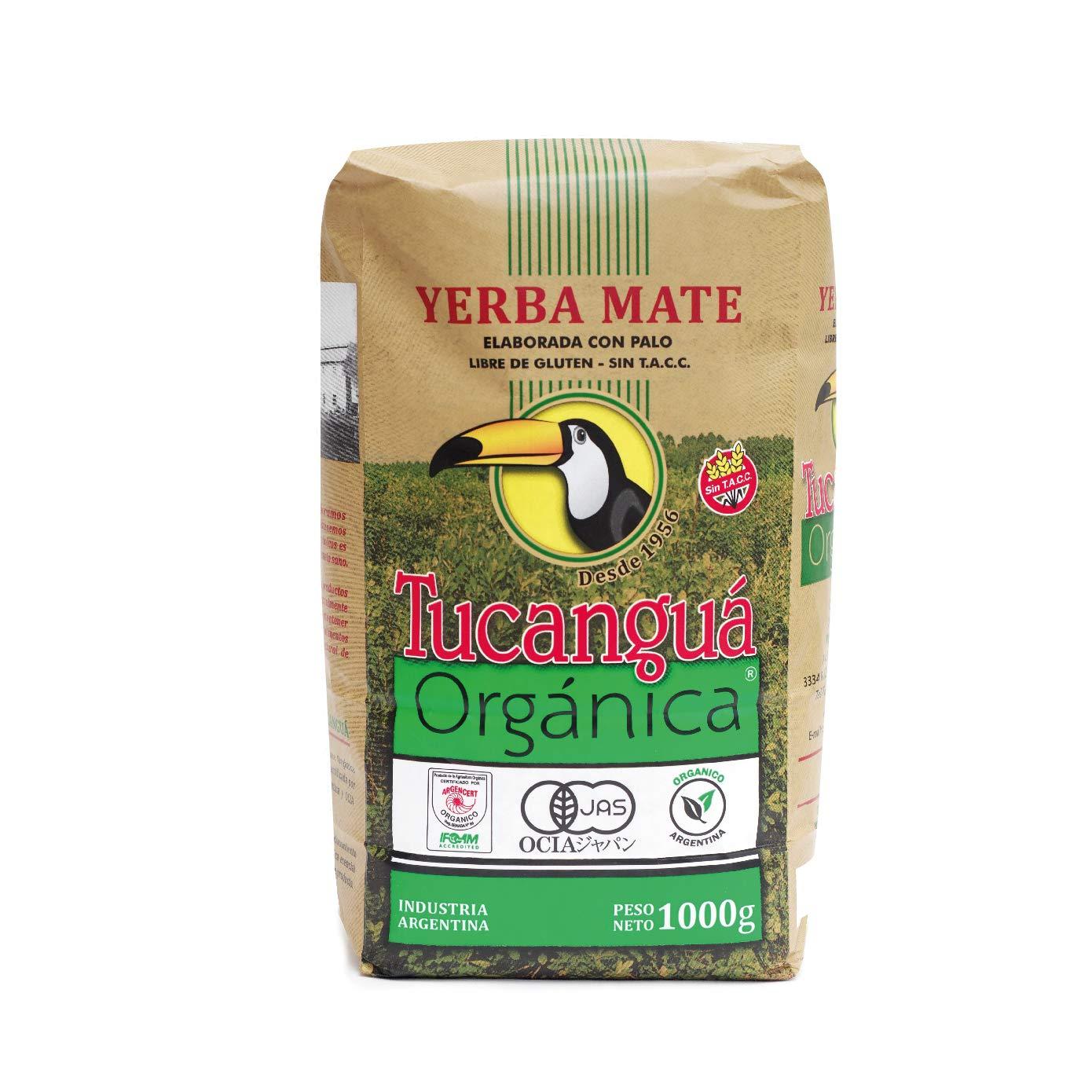 Tucanguá Organic Yerba Mate Loose Leaf Tea Traditional South American Tea Drink 2.2 lb 1 kg