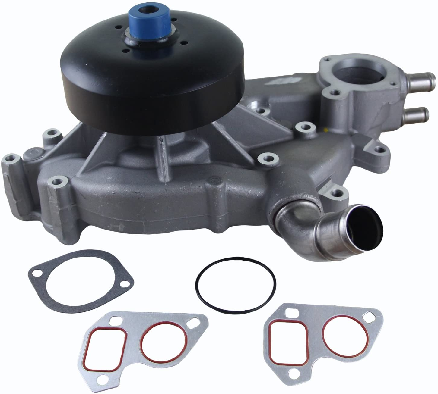 Rareelectrical NEW WATER PUMP COMPATIBLE WITH CHEVROLET SILVERADO 1500 Z71 WT LT LS 4.8 5.3 6.0 19195104