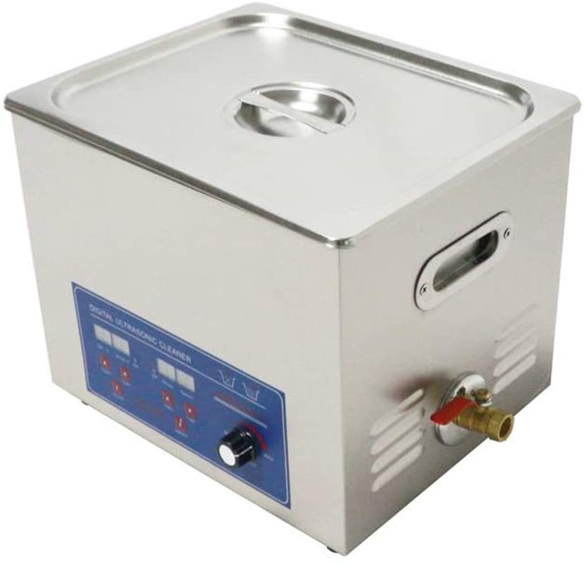 CGOLDENWALL 120KHZ stainless steel Industrial digital Ultrasonic Cleaner 10L for cleaning jewelry, medical and dental equipment, tools