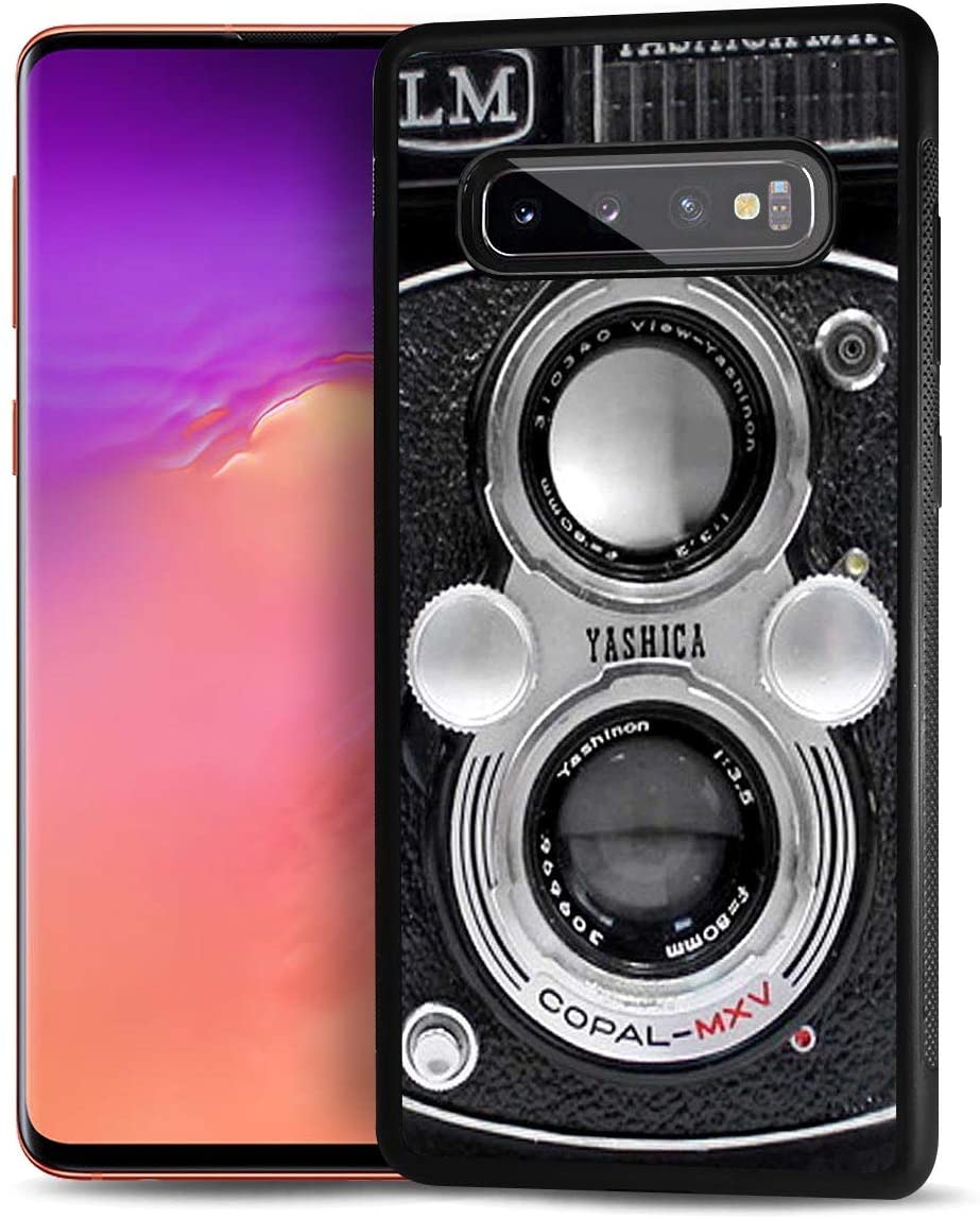 for Samsung S10+, Galaxy S10 Plus, Durable Protective Soft Back Case Phone Cover, HOT12019 Old Camera
