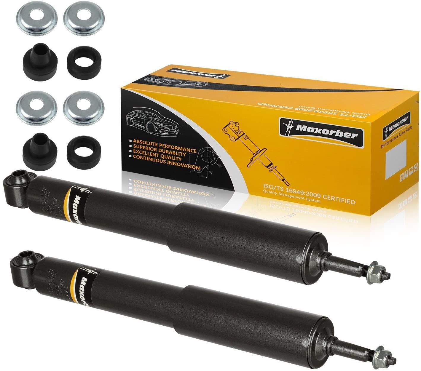 Maxorber Front Set Shocks Struts Absorber Kit Compatible with Dodge Ram 1500 Pickup 2002 2003 2004 2005 4WD Shocks Absorber