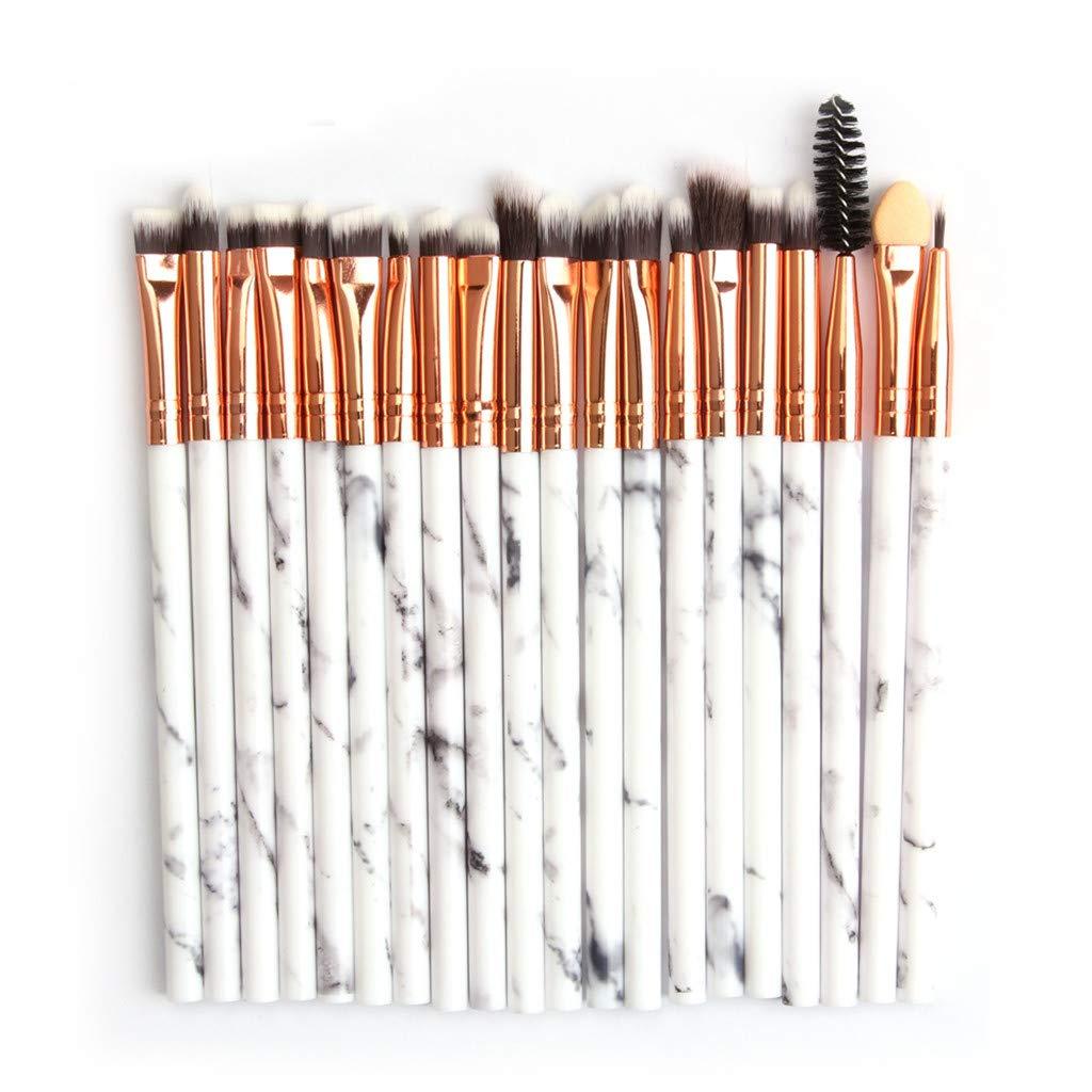 Marble Makeup Brush, 20 Multifunctional Makeup Brushes, Concealer, Eye Shadow Brush Set, Makeup Brush